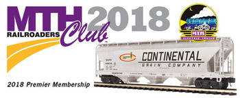 2018 MTHRRC Premier Line O Gauge Club Membership picture