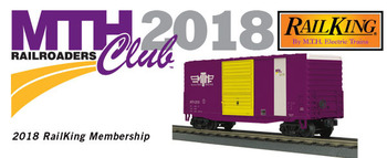 2018 MTHRRC RailKing O Gauge Club Membership picture