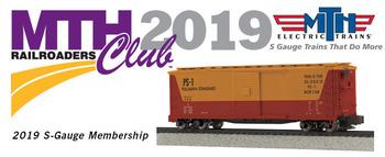 2019 MTHRRC S Gauge Club Membership picture