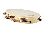 """Bantamweight™ Heat-Treated Silver / Phosphor Bronze Tambourine - 10"""""""