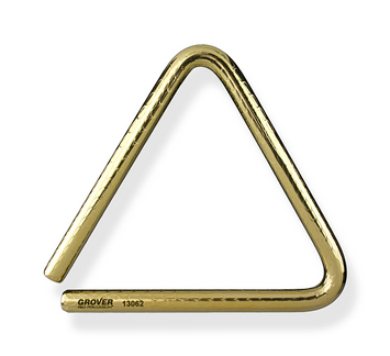 """Bronze Pro Hammered™ Triangle - 6"""" picture"""