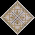 "Arcos Medallion 11 1/2"" Porcelain"