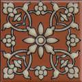 """Samara Terra Cotta 3 3/4"""" Porcelain"""