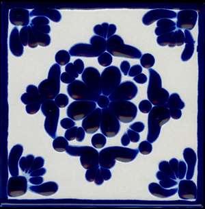 "Colonial 4  -  5 3/4"" Porcelain picture"