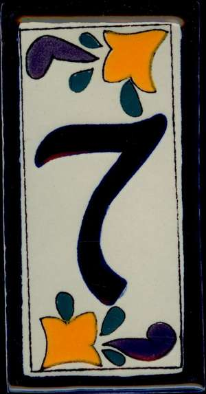 Number 7 - Classic Style 2 picture