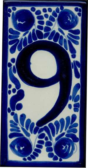 Number 9 - Classic Style 1 picture