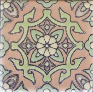 """Santa Rosa Terra Cotta 3 3/4"""" Porcelain SECOND picture"""