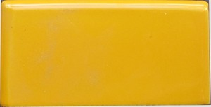 """Yellow -  2 7/8"""" x 5 3/4"""" Left Double Bullnose Porcelain picture"""