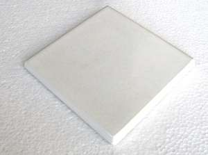 """White  -  3 3/4"""" Porcelain Double Bullnose picture"""
