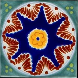 "Baroque 2  -  5 3/4"" Porcelain Pool picture"