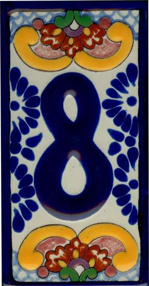 Number 8 - Baroque Style 3 picture