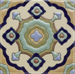 "Sant Gervasi 5 3/4"" Porcelain picture"
