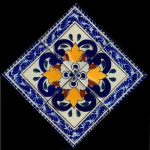 """Baroque 7 -  7 1/2"""" Porcelain Medallion picture"""