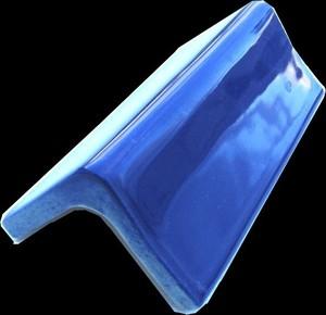 "V-cap 5 3/4"" porcelain - Blue picture"