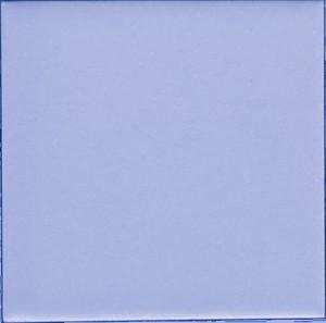 "Aqua  -  3 3/4"" Porcelain picture"
