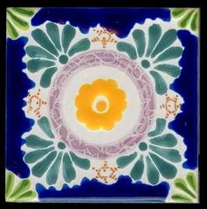"Baroque 3  -  3 3/4"" Porcelain Pool picture"