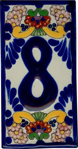Number 8 - Baroque Style 2 picture