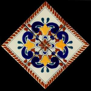 """Colonial 8 -  12"""" Clay Medallion picture"""
