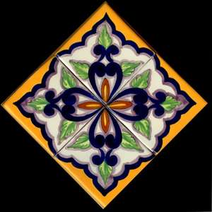 """Baroque 5  -  12"""" Clay Medallion picture"""