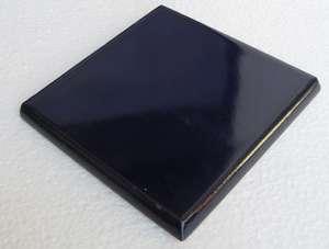"Cobalt  -  3 3/4"" Porcelain Double Bullnose picture"