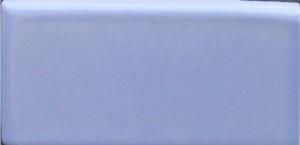 """Aqua -  2 7/8"""" x 5 3/4"""" Left Double Bullnose Porcelain picture"""