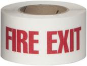 #4215-0159 Flex Track® Non-Slip Vinyl Roll 3in x 54ft White/Red 4/case