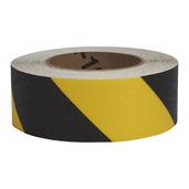 #4215-0150 Flex Track® Non-Slip Vinyl Roll 2in x 54ft Black/Yellow 6/case