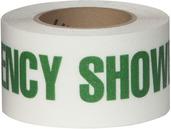#4215-0157 Flex Track® Non-Slip Vinyl Roll 3in x 54ft White/Green 4/case