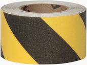 #4215-0152 Flex Track® Non-Slip Vinyl Roll 3in x 54ft Black/Yellow 4/case