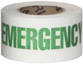 #4215-0156 Flex Track® Non-Slip Vinyl Roll 3in x 54ft White/Green 4/case
