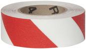 #4215-0151 Flex Track® Non-Slip Vinyl Roll 2in x 54ft White/Red 6/case