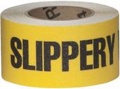 #4215-0162 Flex Track® Non-Slip Vinyl Roll 3in x 54ft Black/Yellow 4/case