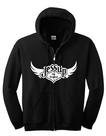 Jessup Adult Full Zip Hoodie - Black XXXL picture