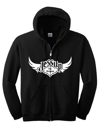 Jessup Adult Full Zip Hoodie - Black XL picture