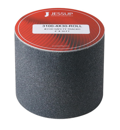 #3100 Safety Track® Non-Slip Grit Roll 4in x 30ft Black (Single Roll) picture