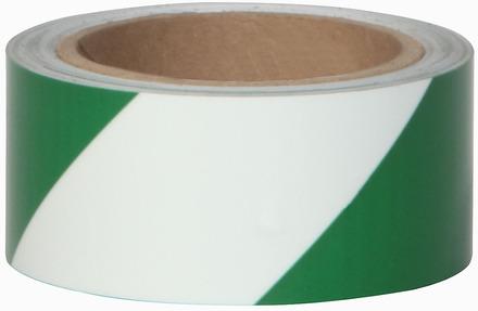 #7520 Glo Brite® 2in x 30ft Glow w/Green Stripe 3/case picture