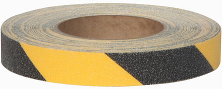 3363 Grit Roll 1in x 60ft Heavy Duty Black/Yellow 12/case picture