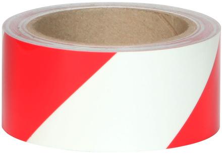 #7520 Glo Brite® 2in x 30ft Glow w/Red Stripe 3/case picture