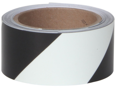 #7530 Glo Brite® Roll 2in x 30ft Glow w/Black Stripe 3/case picture