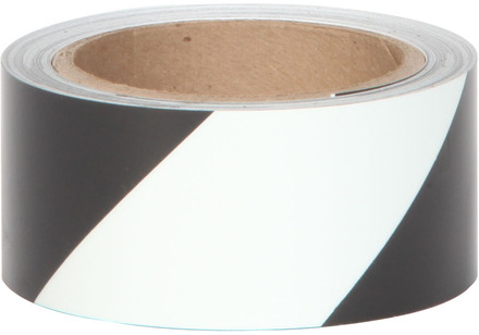 #7520 Glo Brite® 2in x 30ft Glow w/Black Stripe 3/case picture