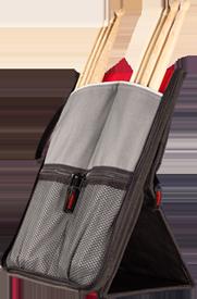 SABIAN Stick Flip Bag - Black w/ Red picture