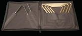 Regular Triangles & Striker Set w/Attache Case