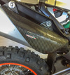 P3 Carbon Silencer Guard, 4-stroke additional picture 5