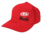 "Beta ""Block"" hat, red"