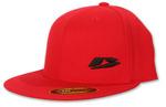 Beta 'Puffy B' Hat, Red, Flatbill