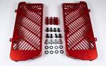 BulletProof Radiator Guards, 125 RR-S/Supermoto,Red