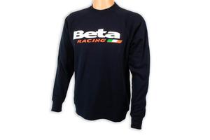 Beta Racing Crewneck Sweatshirt, Navy picture