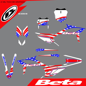 American Flag Graphics Kit, 2020+ picture