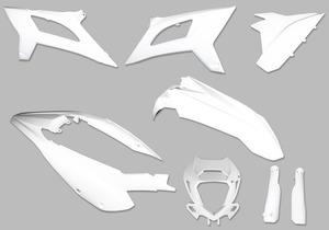 Complete Plastic Kit, White, 2020+ RR/RR-S picture