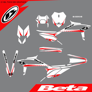 Shuttered White Graphics Kit, 2020+ picture